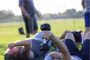 weight training in rehab