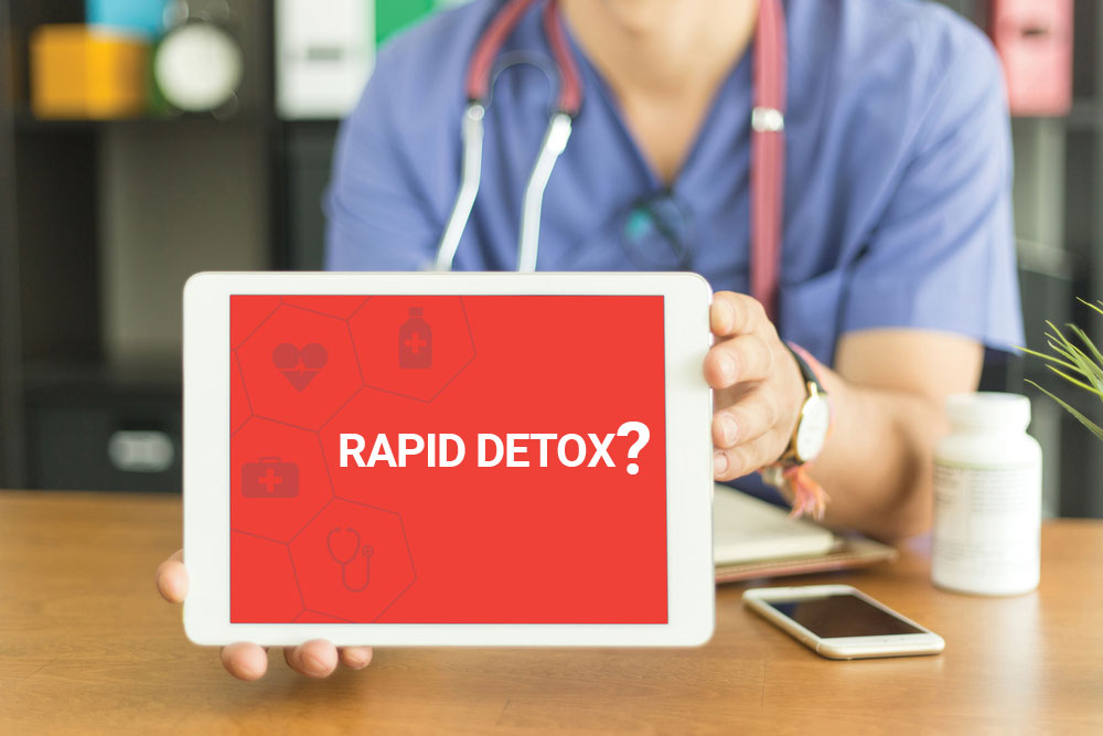 Dangers of Rapid Detox - California